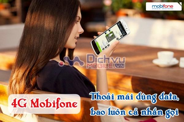 Gói cước Mobifone 4G có giá khởi điểm từ 120.000 đồng