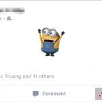 Hướng dẫn cách đăng status trên Facebook bằng sticker cực chất