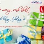 Mobifone tặng quà sinh nhật cho khách hàng tháng 06/2016