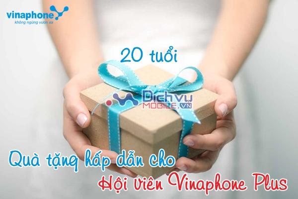Vinaphone tri ân khách hàng nhân dịp sinh nhật 20 tuổi