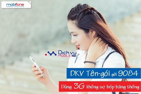 Các gói 3G không bị bóp băng thông mạng Mobifone