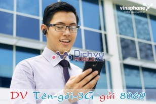 Các gói cước 3G cho sim Vinaphone 088 mới nhất