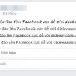 Cách viết chữ hiệu ứng ngộ nghĩnh, độc đáo lên status Facebook