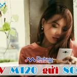 Đăng ký 3G gói cước M120 của Vinaphone ưu dãi 1.5GB data