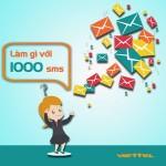 Đăng ký gói S1000 Viettel nhắn tin thả ga với 1000 tin nhắn