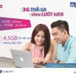 Lướt web cả năm cùng sim 3G Hà Thành của Vinaphone
