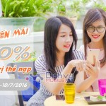 Vietnamobile khuyến mãi tặng 100% thẻ nạp ngày 9 và 10/7