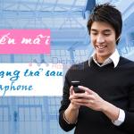 Vinaphone khuyến mãi hòa mạng trả sau tháng 8/2017