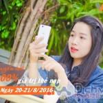 Vietnamobile khuyến mãi 100% thẻ nạp ngày 20 – 21/8/2016