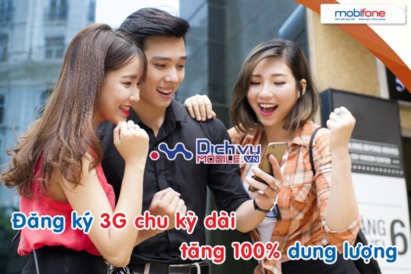 Đăng ký 3G Mobifone chu kỳ dài