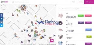 Cách giúp bạn tìm kiếm Pokémon, Pokestops và phòng Gym cực nhanh