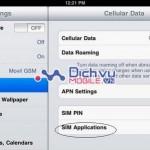 Cách nạp tiền cho sim 3G Viettel sử dụng trên iPad mới nhất