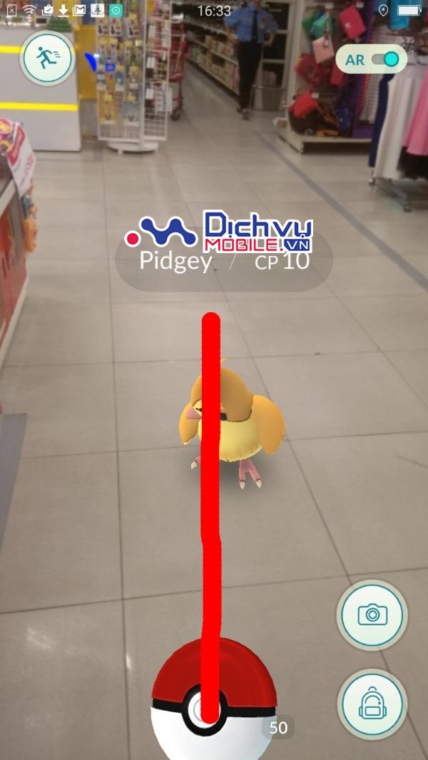 Cách ném bóng Pokeball chuẩn xác 100% trong Pokémon GO
