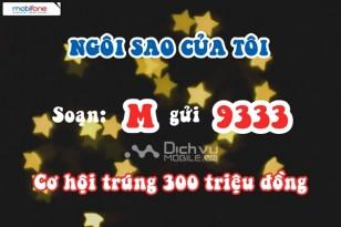 """Hơn 300 triệu đồng trao thưởng """"Ngôi sao của tôi"""" Mobifone"""