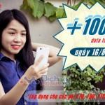 Mobifone khuyến mãi 100% data Fast Connect ngày 16/8/2016