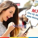 Đăng ký gói M70 Mobifone chu kỳ dài, tận hưởng ưu đãi data khủng