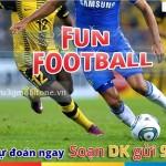 Xem đá bóng, trúng thưởng lớn cùng dịch vụ Fun Football Mobifone
