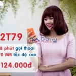 Đăng ký gói 2T79 Mobifone miễn phí 1.608 phút và data 3G