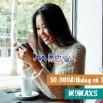 Đăng ký gói MiMaxS Viettel nhận ngay 1GB data với chỉ 50.000đ