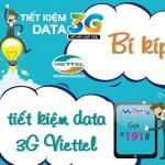 Hướng dẫn các cách tiết kiệm data khi sử dụng 3G Viettel