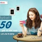 Mobifone khuyến mãi 50% giá trị thẻ nạp ngày 23 – 24/9/2016