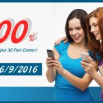 Khuyến mãi 100% data Fast Connect Mobifone ngày 26/9/2016