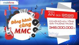 CTKM đồng hành cùng MMC- MobiFone Music Contest 2016 trúng 200 triệu đồng