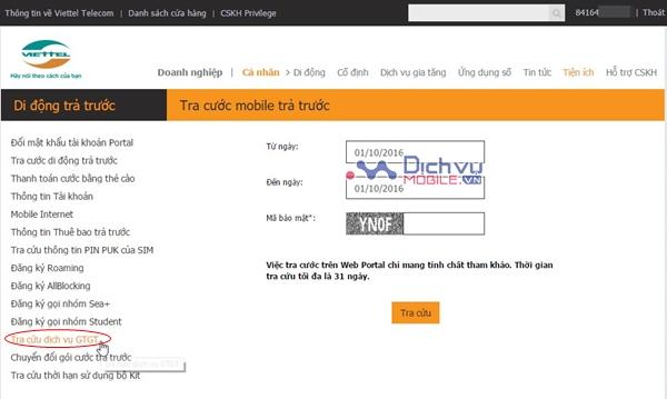 Cách kiểm tra dịch vụ Viettel nào đang trừ tiền của bạn?