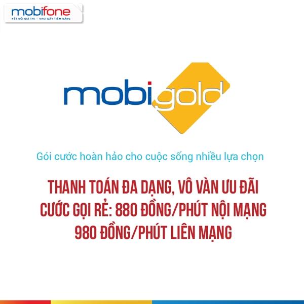 Gọi thoại giá rẻ với gói cước trả sau MobiGold