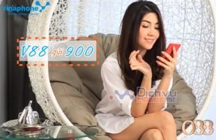 Gọi thoại thả ga chỉ với 1000đ khi đăng ký gói V88 Vinaphone