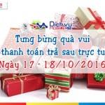 Mobifone khuyến mãi thanh toán trả sau từ ngày 17 – 18/10/2016