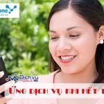 Cách Ứng dịch vụ Vinaphone liên lạc, sử dụng 3G ngay khi hết tiền