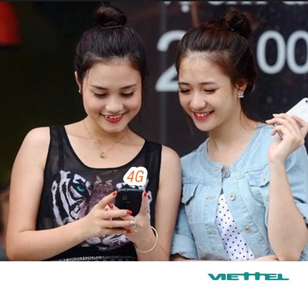 Hướng dẫn đăng ký 4G mạng Viettel