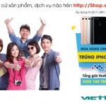 Mua hàng online trúng ngay iPhone 7 cùng Viettel