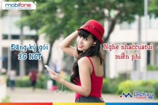 Nghe nhạc miễn phí với gói 3G NCT Mobifone