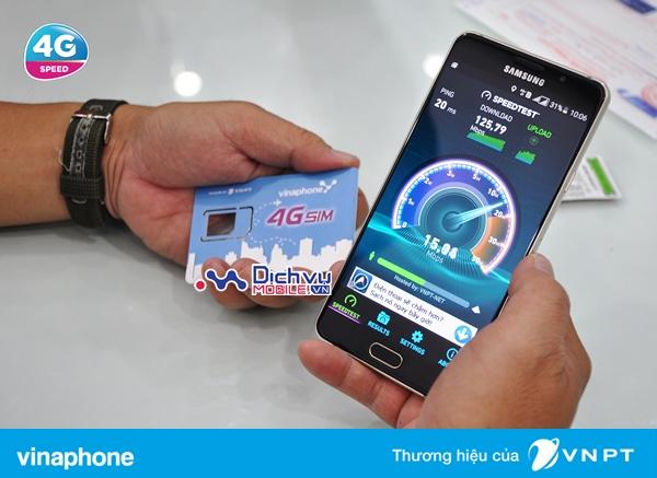 Phí đổi sim 4G mạng Vinaphone là bao nhiêu?