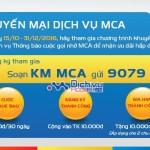 Mobifone Khuyến mãi cộng tiền cho thuê bao dùng dịch vụ MCA
