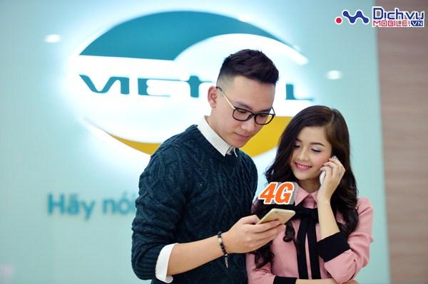 Thông tin các gói cước 4G mạng Viettel