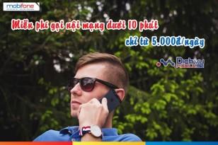 Tổng hợp các gói miễn phí gọi nội mạng Mobifone dưới 10 phút