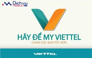 Hướng dẫn cài đặt và sử dụng ứng dụng My Viettel