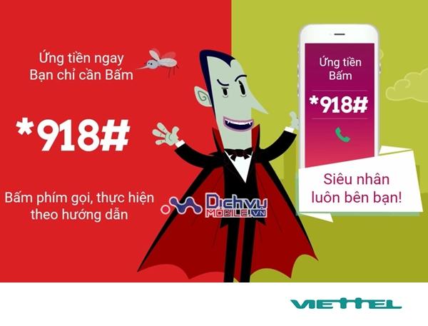Ứng tối đa đến 100.000đ với dịch vụ ứng tiền tự động Viettel