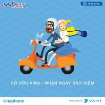 Vinaphone khuyến mãi miễn phí 1 năm bảo hiểm xe máy bắt buộc