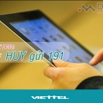 Cách hủy gói Dcom 3G DC10 Viettel từ 191 đơn giản nhất
