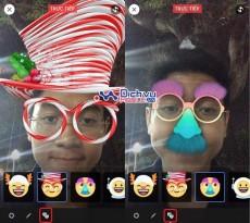 Các tính năng chào đón Giáng sinh và năm mới trên Facebook