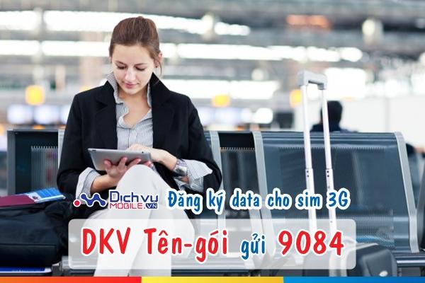 Cách đăng ký dung lượng data cho sim 3G Mobifone