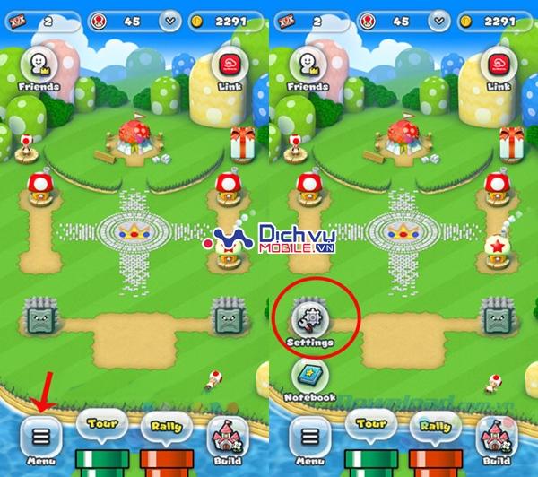 Cách tiết kiệm pin khi chơi game Super Mario Run