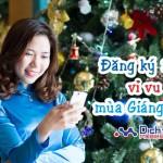 Chia sẻ khoảnh khắc Giáng sinh với các gói cước 3G giá rẻ