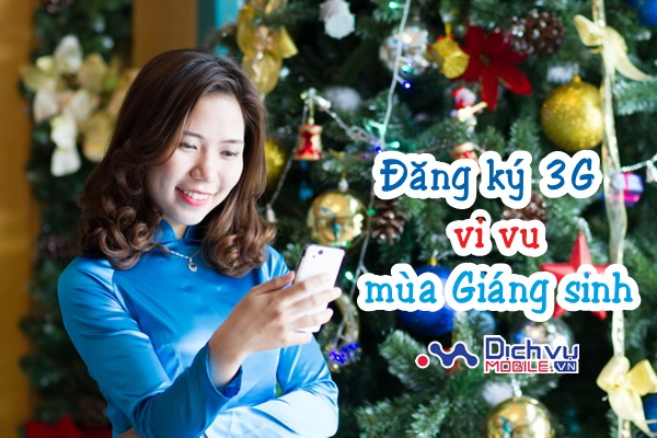 Chia sẻ khoảnh khắc Giáng sinh với các gói 3G giá rẻ