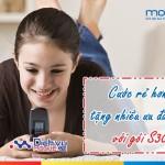 Hòa mạng gói S30 Mobifone với cước thấp và nhiều ưu đãi