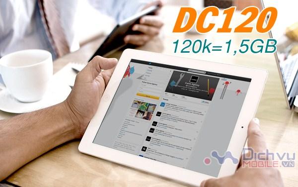 Đăng ký gói DC120 tận hưởng 1,2GB data trọn gói từ Viettel